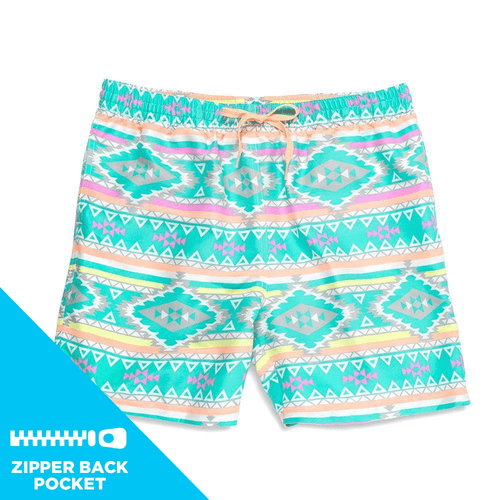 Men's Chubbies The En Fuegos 5.5 Swim Trunks Front