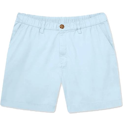 """Men's Chubbies The Altitudes 5.5"""" Stretch Shorts Pastel Blue Front"""