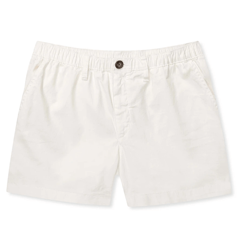 "Men's The Vanillas 5.5"" Stretch Shorts White"