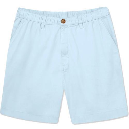 """Men's Chubbies The Altitudes 7"""" Stretch Shorts Pastel Blue Front"""