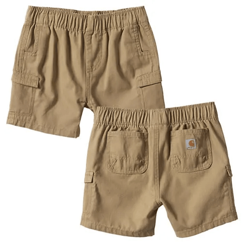 Infant & Toddler Boys' Carhartt Ripstop Cargo Short 251-Dark Khaki