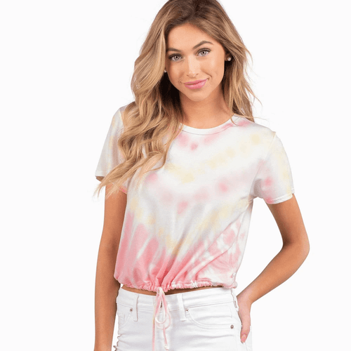 Women's Southern Shirt Co. Dazed and Confused Crop Top Bahama Mama
