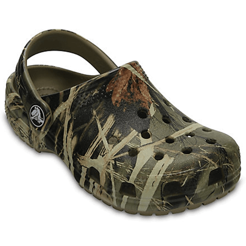 Boys' Crocs Classic Kids Realtree Clog Khaki