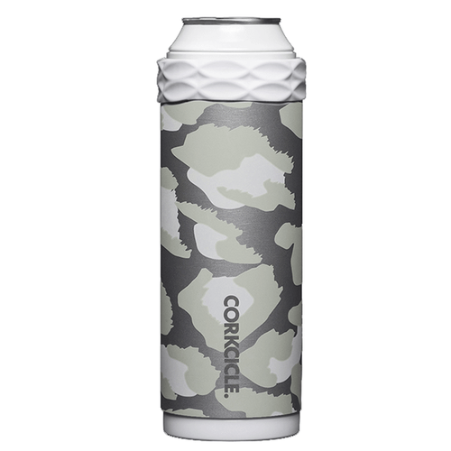 Corkcicle 12 oz. Slim Arctican - Snow Leopard