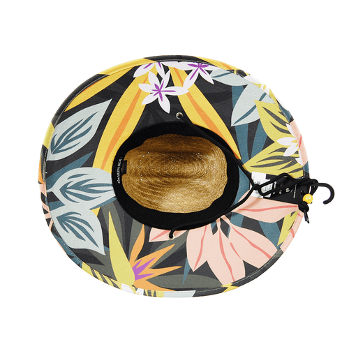 Hemlock Hat Co. The Bermuda Straw Hat Bottom
