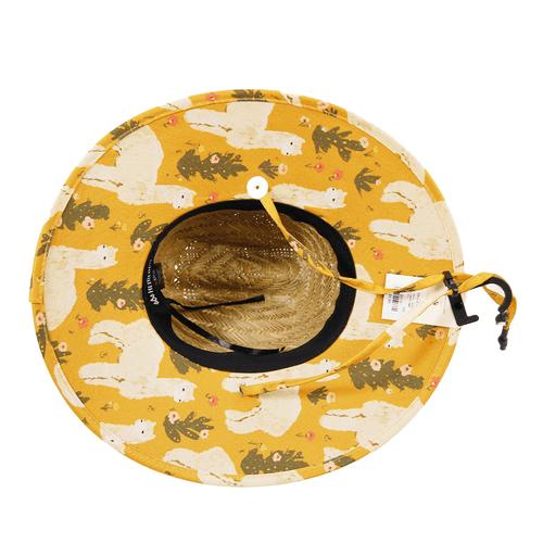 Hemlock Hat Co. Little Kids Lima Straw Hat Bottom