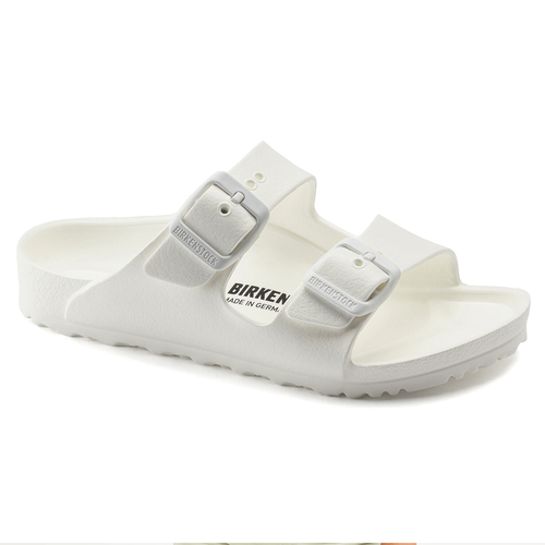 Girls' Birkenstock White Arizona EVA Sandal