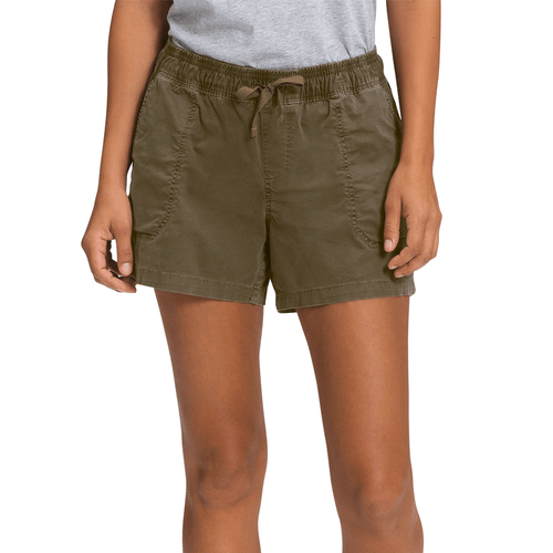 "Women's The North Face 4"" Motion Pull-On Short 37u Front"