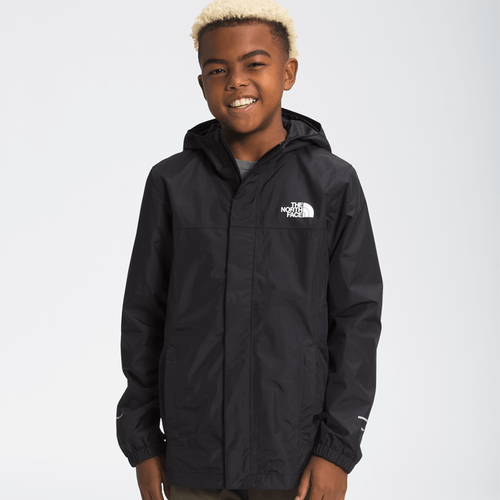 Boys' The North Face Resolve Reflective Jacket JK3 Black Front