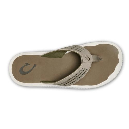 Men's Olukai Ulele Beach Sandal Clay/Mustang Top