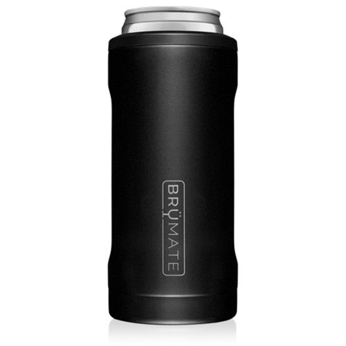 BruMate Hopsulator 12 oz Slim Can Cooler -Matte Black