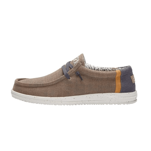 Men's Hey Dude Wally Free -Natural Beige