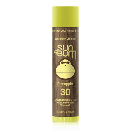 Sun Bum SPF 30 Lip Balm - Pineapple Front