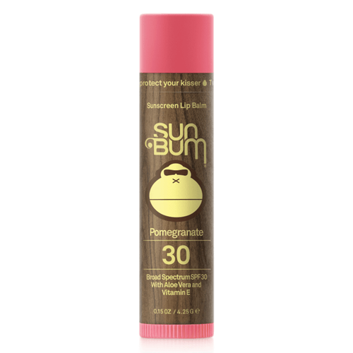 Sun Bum SPF 30 Lip Balm - Pomegranate Front