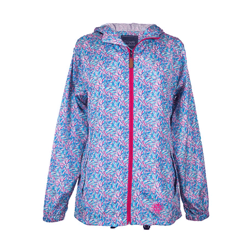 Women's Simply Southern Rain Jacket Abstract