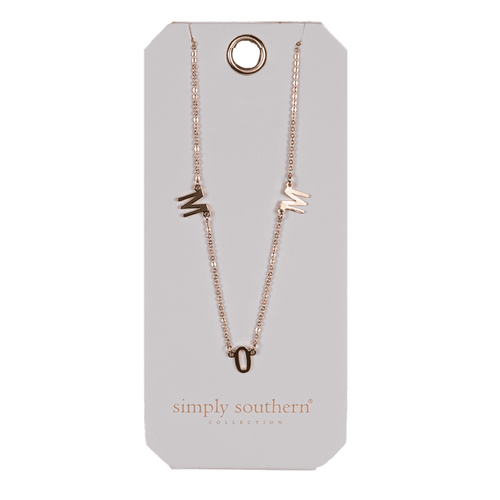 Simply Southern Dainty Necklace Mom