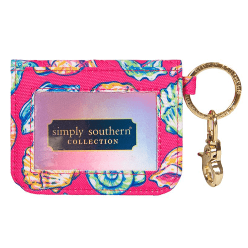 Simply Southern ID Wallet Keychain Shells Front