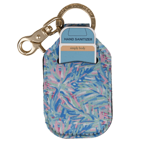 Simply Southern Hand Sanitizer Keychain Abstract