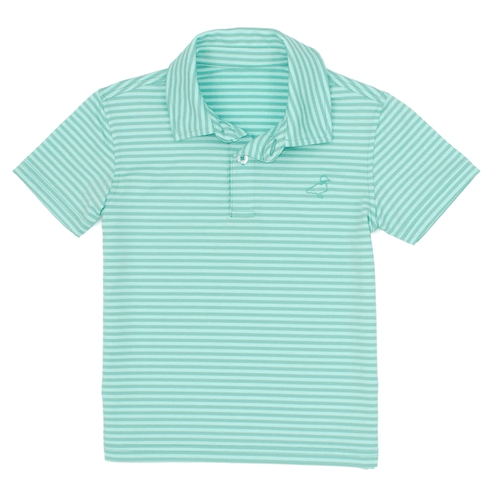 Boys' Properly Tied Waverly Polo Rainforest