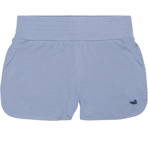 Girls' Southern Marsh Claire Sandwash Short Washed Blue Front