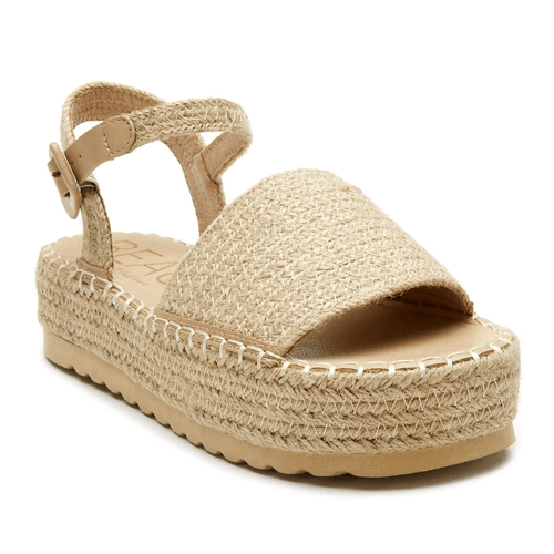 Women's Matisse Destination Platform Sandal Natural Front