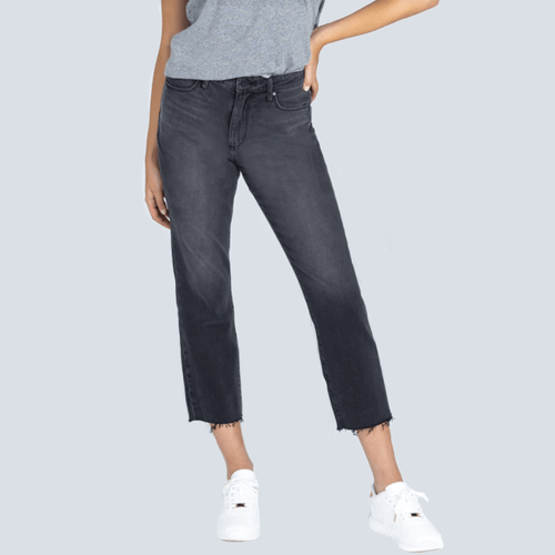 Women's Articles of Society Kate Hi Rise Straight Crop Front