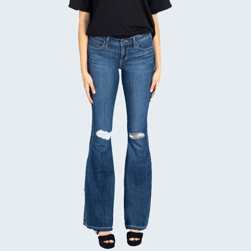 Women's Articles of Society Faith Flair Jean - Oahu Front