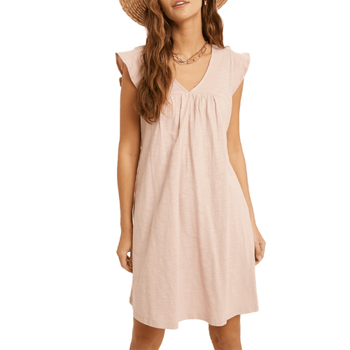 Women's Wishlist Cap Sleeve Mini Dress Light Mauve