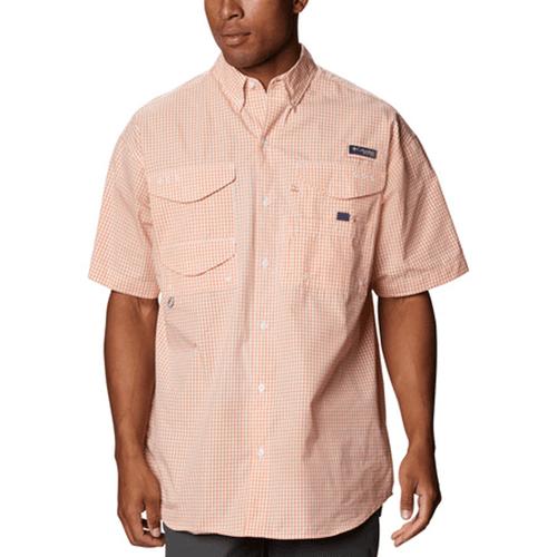 Men's Columbia Short Sleeve Super Bonehead Classic Shirt 873BrightNectar Front