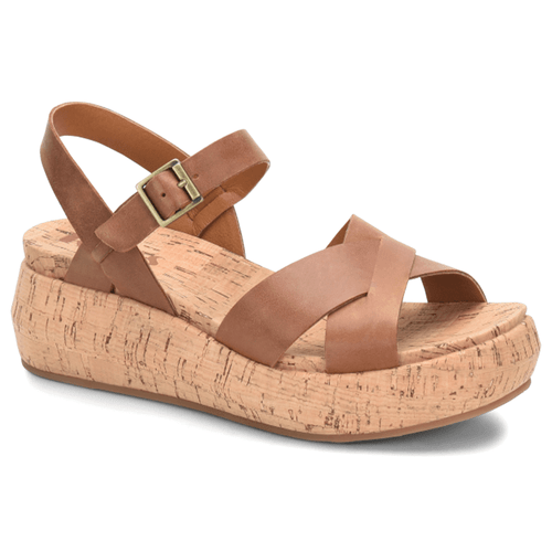 Women's Korks Kalie Wedge Brown