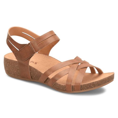 Women's Korks Primrose Wedge Dark Tan