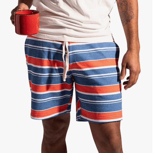 """Men's Chubbies 7"""" The Going Coastals Shorts Front"""