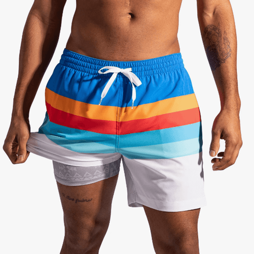 "Men's Chubbies 5.5"" The Shorelines-Lined Classic Stretch Front"