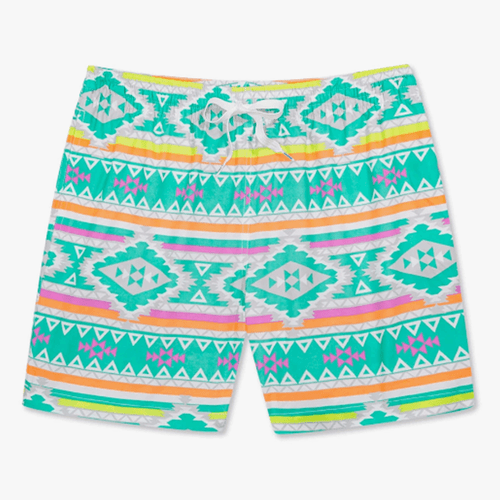 "Men's Chubbies 5.5"" The En Fuegos-Lined Classic Stretch Front"