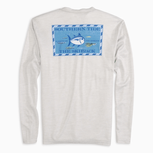 Men's Southern Tide Under The Sea Performance Shirt Back