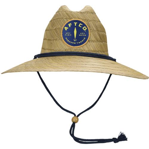 Adult Aftco Westside Straw Hat Natural Front