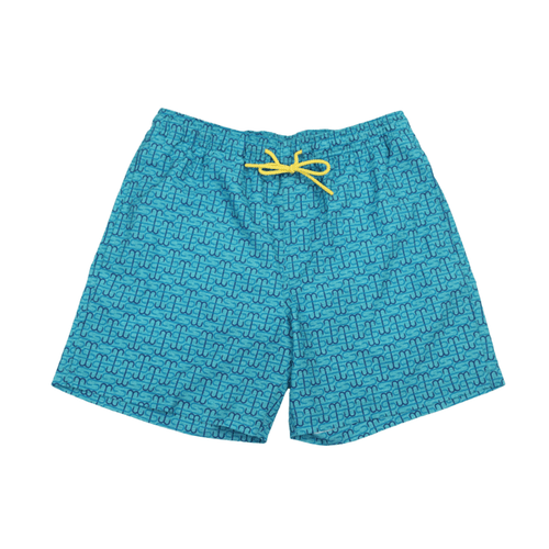 "Men's Southern Tide 6"" ST Hook Swim Trunk Front"