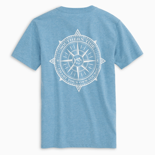 Boys' Southern Tide Chart Your Own Course Tee Back