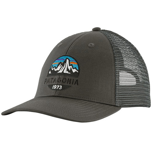 Men's Patagonia Fitz Roy Scope LoPro Trucker Hat FGE-Forge Grey Front