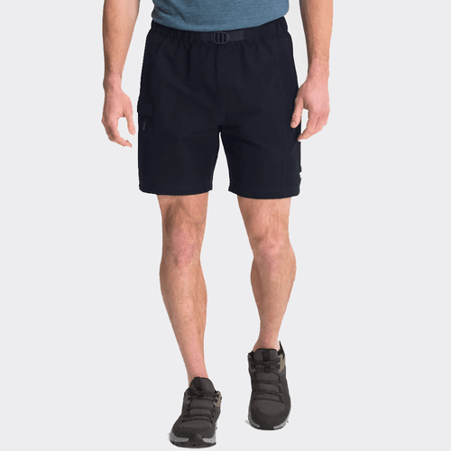 """Men's The North Face 7"""" Class V Belted Swim Short RG1-Aviator Navy Front"""