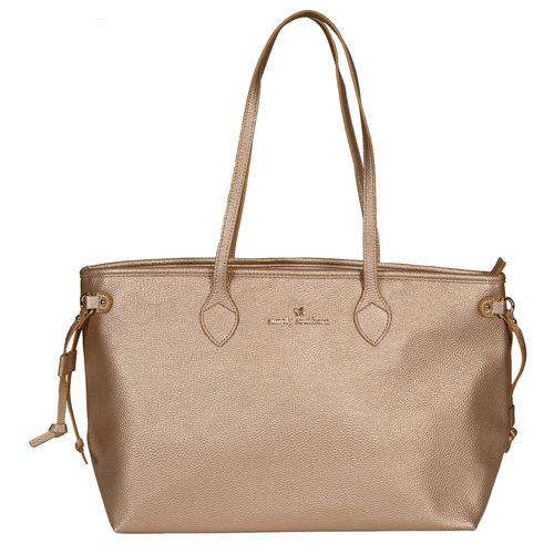 Simply Southern Leather Tote Gold