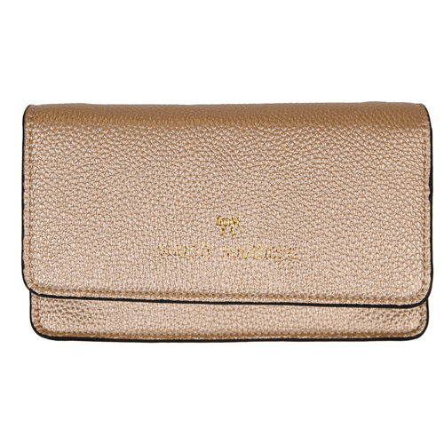 Simply Southern Leather Phone Clutch Gold