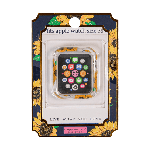 Simply Southern 38mm Apple Watch Bumper Sunflower