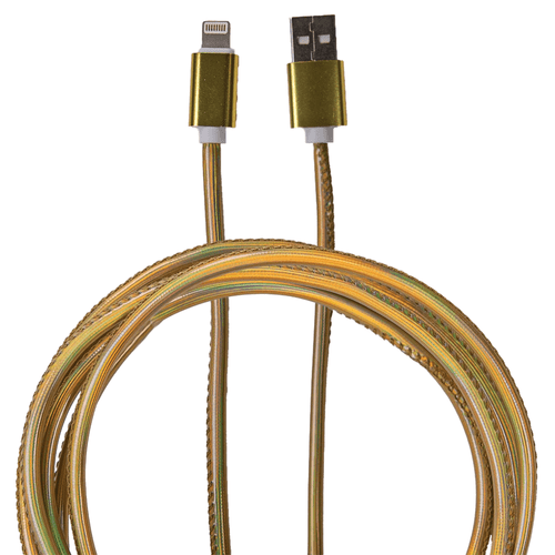 Simply Southern 10 Ft Lightning Cable Holo Gold