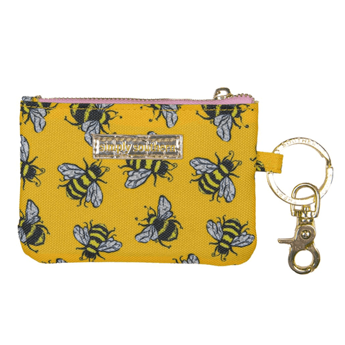 Simply Southern ID Coin Holder Bee