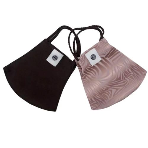 Pomchies Pom Mask 2 Pack -Pink Zebra Folded