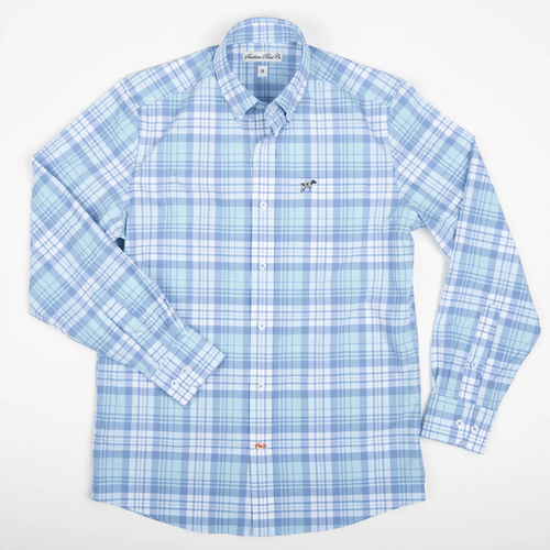 Boys' Southern Point Hadley Performance Button Down -Tide Front