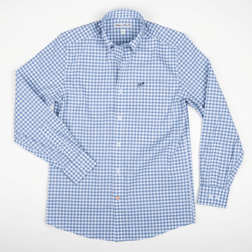 Boys' Southern Point Hadley Summerweight Button Down -Slate Front