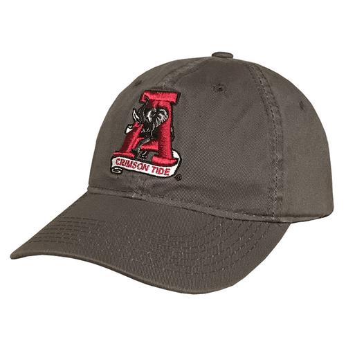 Adult Tuskwear Vintage A Leather Strap Hat Front