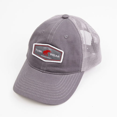 Adult Tuskwear Patch Trucker Hat Front